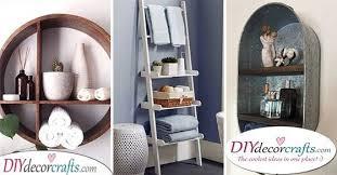 decorative bathroom shelf ideas