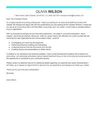 Cover Letter For A Staff Accountant Position Job And Resume Template