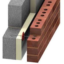 cavity walls external veneer and