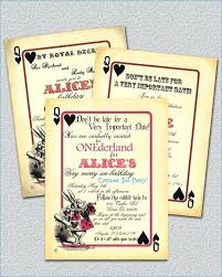 Cordially Invite You Sample Playing Card Invitation Template Are