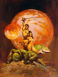 erb paradigm of racial toleration by ronnie w faulkner frank frazetta art