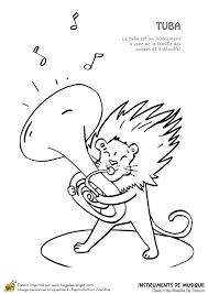 Coloriage Instruments De Musique Imprimer Sur Hugolescargot Com