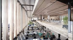 google office in london. the interior of building will be mainly given over to openplan offices image google office in london o
