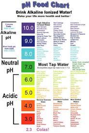 Alkaline Ph Chart Alkaline Acidic Charts Ph Food Chart Alkaline Foods
