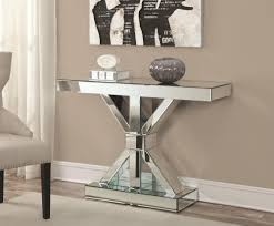 Accent Table Decorating Ideas Photo Of Mirrored Accent Table With Mirrored 3 Drawer Accent Table