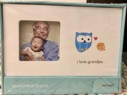 grandpa picture frame sentiment frame i love grandpa white new grandpa picture frame target