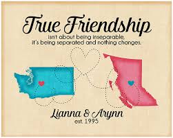 Quotes About Friendship And Distance Awesome Moving State To State Quotes True Friendship Quote Long Distance
