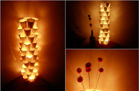 paper lamps floor lamp yourself making paper cups