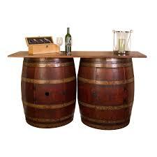 rustic wine barrel bar rustic wine. double half barrel bar wall mount rustic wine