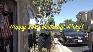 Happy 23rd Birthday Avery Henley 7/3/2020 (VideoWebb🎥) - YouTube