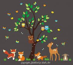 wall decals for nursery boy deer target