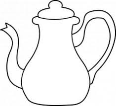 Small Picture Teapot coloring page tea cups Pinterest Colouring and