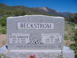 Effie Gardner Beckstrom (1905-2003) - Find A Grave Memorial