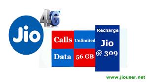 Jio 4G Prepaid Rs 309 Recharge Plan ...