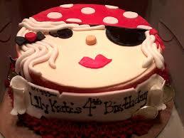 Girly Pirate Themed Birthday Cake Stephanielynns