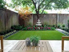 Beautiful Backyard Landscape Design For Outdoor Patio Decorating Ideas:  Beautiful Minimalist Backyard Landscape Design With Grass Plus Big Tree  Also Wood ...