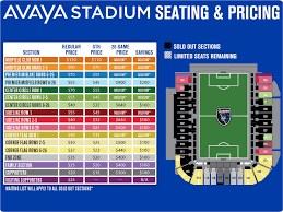 Avaya Stadium Guide Cbs San Francisco