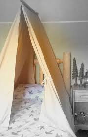 twin size bed tent custom tee canopy for boys or girls bedroom kids room play tents design cottage camping lodge decor handmade lodge