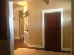 wood interior doors with white trim. Interior Designing Stained Door Painted Trim Does Doors With White Moldings Work Painting Finish New Design Room Wood