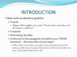 five paragraph essay bing bang bongo thesis statement ppt  2 introduction
