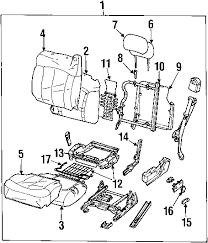 parts com® chevrolet avalanche 1500 front seat components oem parts 2002 chevrolet avalanche 1500 z71 v8 5 3 liter gas front seat components