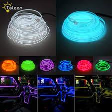 Online Shop 2M/5M Waterproof LED Strip Light Neon Light Glow EL ...
