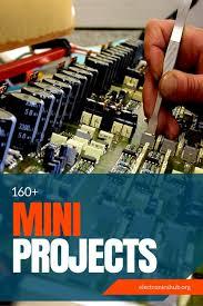 list of electronics mini project circuits