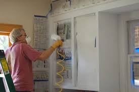 kitchen cabinet spray paintSimple And Creative Tips Of How To Paint Kitchen Cabinets  Home