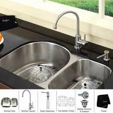 Exclusive Heritage AllinOne Undermount Stainless Steel 25 In 25 Undermount Kitchen Sink