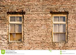 Antique Windows Antique Windows In 100 Year Old Wall Stock Photo Image 52028448