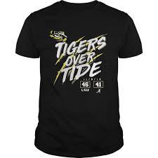 Crimson Tide Christmas Lights Lsu Tigers 46 Alabama Crimson Tide 41 Tigers Over Tide Shirt