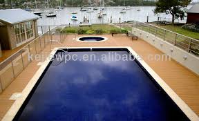 teak tiles outdoor flooring wood plastic composite