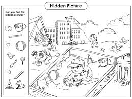 You can easily turn these worksheets into a game by giving a small prize to the group or. 6 Best Hidden Object Printables Printablee Com