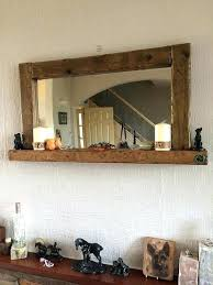 Long length mirror Ornate Long Borse Long Wooden Mirror En Grey Furniture Borse
