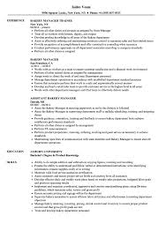 Bakery Manager Resume Bakery Manager Resume Samples Velvet Jobs 1