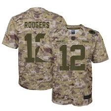 Rodgers Aaron Packers Youth Jersey Green Bay