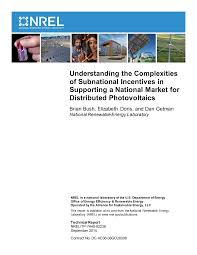 Understanding the Complexities of Subnational Incentives in Supporting a  National Market for Distributed Photovoltaics