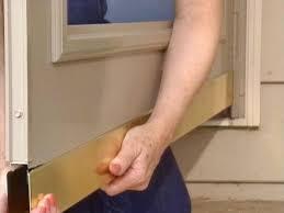 Diy Screen Door Kit How To Install A Storm Door From A Kit How Tos Diy