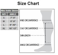 Nike Soccer Shin Guards Size Chart Bedowntowndaytona Com