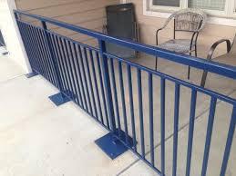 metal banisters