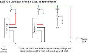 wiring question 3 wire pickups talkbass com i did some internet searches and didn t see any 3 wire pickups so i m confused