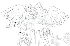 Mia And Me Coloring Pages Also Download And Me Coloring Pages To
