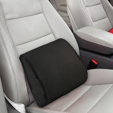 memory foam car seat chair lumbar support cushion back pain height booster 1 of 7free
