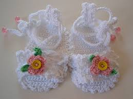 Crochet Baby Booties Pattern 3 6 Months Simple PDF Pattern Crochet Baby Sandals 4848 Months Baby Ideas Pinterest