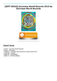 read pdf gift ideas guinness world records 2019 by guinness world records read pdf gift ideas guinness world records 2019