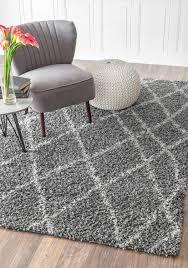shag rug gray design ideas modern luxury  rugs carpet ideas