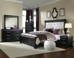 Apartment Bedroom Black Bed White Quilt Decoration Venetian Furniture Home  Ideas Intended For Regarding