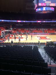Illinois Basketball Seating Chart State Farm Center Section 102 Rateyourseats Com