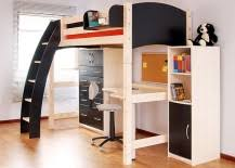 Image Modern Minimalist Loft Beds With Desks Underneath Are Popular Option In The Kids Bedroom But As You Will See There Is No Reason Why Adults Cannot Take Few Hints From Decoist Loft Beds With Desks Underneath 30 Design Ideas With Enigmatic Touch