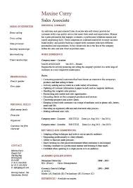 Cashier Sales Associate Resume Cashier Sales Associate Resume Retail Sample For Clothing